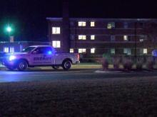 University officials said the Harnett County Sheriff's Office is investigating the death.