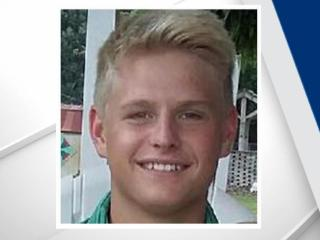 Officials said 18-year-old Ezra Goldbach, from Stokes County, fell from a window at Kitchin Hall, an all-boys dorm, around 9:30 p.m.