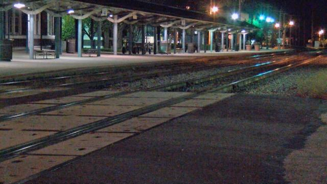 Authorities were investigating late Friday after an Amtrak train traveling from New York to Miami hit a pedestrian in Wilson.