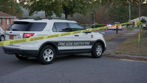 Two people were shot at Wedgedale Ave. and Walton St. in Durham Thursday. One was pronounced dead at the scene and one was injured.