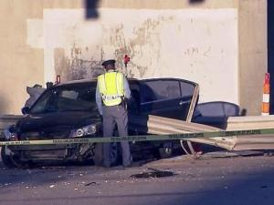 A deadly wreck in Raleigh early Friday morning shut down a major downtown road ahead of the morning commute.