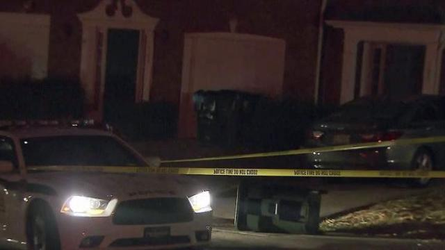 Police said a man was shot early Sunday at a home in Morrisville.