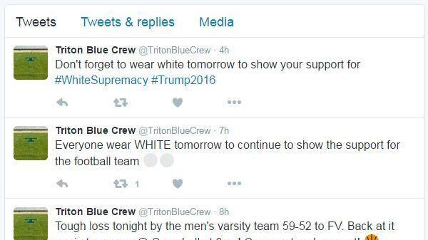 Racist tweet appears on account supporting Triton High athletics, investigation underway