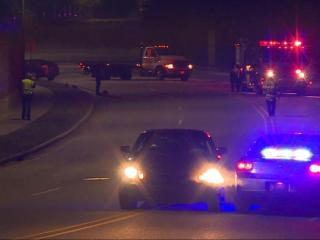 A Fayetteville man was charged with DWI after striking and killing a pedestrian late Wednesday night, police said.