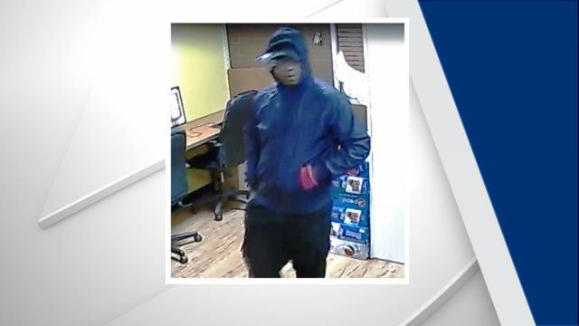 Durham police are seeking the public's help to identify a suspect who robbed a sweepstakes business in late October.
