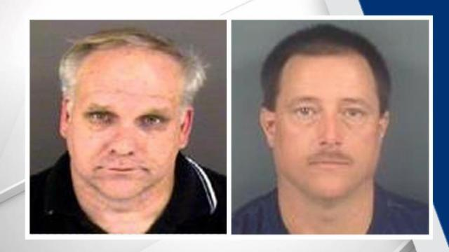 The suspects have been identified as David Alan Andrews, 55, and Christopher Paul Beard, 41.