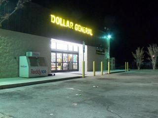 The Robeson County Sheriff's Office said one person was shot by a police officer at the Dollar General store at 2505 Martin Luther King Jr. Drive.