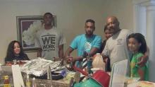 IMAGE: 'God is good' to Goldsboro family who survived Matthew, heart transplant