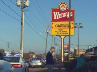 One dead, two dead after shooting at Wendy's restaurant in Fayetteville