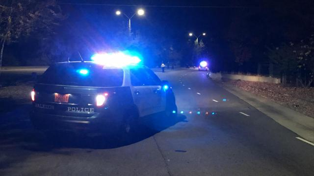 Raleigh police responded to the crash involving a motorcycle on Western Boulevard just before 6:40 p.m.