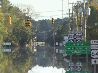 Princeville town leaders met with residents Monday night to discuss their plans for moving forward following devastating floods from Hurricane Matthew.