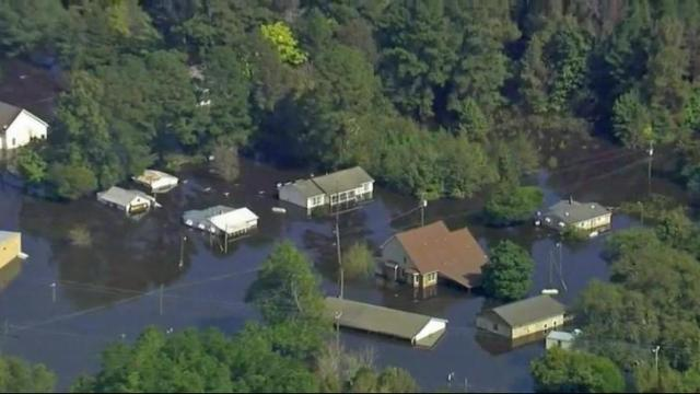 Princeville residents weigh options after Hurricane Matthew