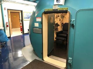 Duke University Hospital is the only place in the state where a person can get treatment in a hyperbaric chamber 24-hours a day, 365 days a year.