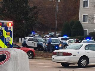A police officer has been injured in an incident at a condominium complex near Lake Johnson in southwest Raleigh.