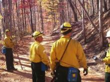 Firefighters from across the Triangle, including a group from Durham, headed to the western North Carolina wildfires to lend a helping hand.