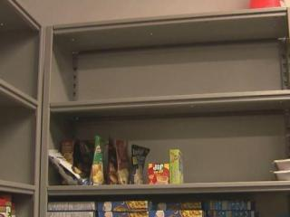 With nearly empty shelves, the Salvation Army of Wake County's pantry is alarming, especially during the holiday season.