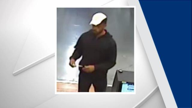 Authorities said a man entered a Woodforest National Bank located inside a Walmart on Shiloh Glen Drive at about 5:50 p.m. and handed a note to a teller, demanding money.