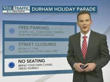 Navigating the Durham Christmas Parade