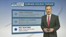 What you need to know about the Durham Christmas Parade on Dec. 10, 2016.