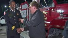 Gift of firetruck helps Princeville firefighters struggling after Matthew