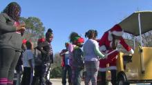 IMAGES: Christmas comes early for Fayetteville's Creek's Edge community