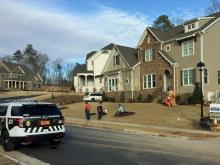 A child died Monday, Dec. 26, 2016, after being hit by a runaway dump truck on Dogwood Bloom Lane in Hillsborough.