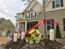 Memorial grows for child struck, killed by dump truck