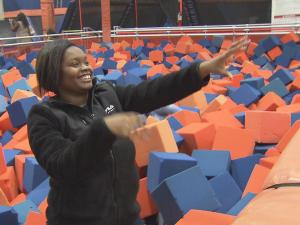 Sixty-six children from Princeville were treated to a day full of fun in Raleigh Tuesday as their families continue to recover from Hurricane Matthew.