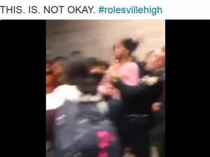 Video shows officer slamming student at Rolesville High