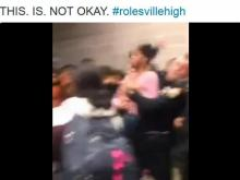 Twitter video: Officer slams student to ground