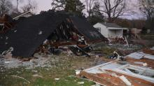 IMAGES: Halifax County home explodes after woman reports gas smell
