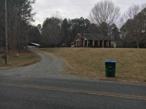 This is the home where Union Co. Sheriff's Office says a 2 yo boy got hold of Waxhaw police officer's personal weapon and shot mom. (Photo courtesy WCNC)