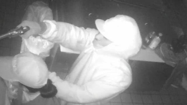 Fayetteville Police responded to a report of a robbery at Freddy's Frozen Custard at 4825 Ramsey Street Wednesday night around 11:45 p.m.