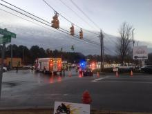A pedestrian was killed by a vehicle early Thursday morning on U.S. Highway 401 in Garner, police said.