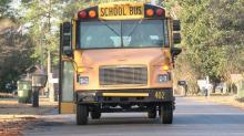 IMAGES: School bus driver charged in Wayne collision