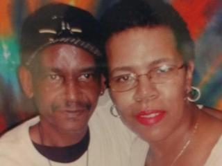 James Demetrius Mims and his wife, Sherron Alston