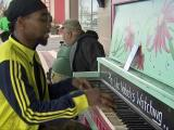 Colorful tunes resound from Goldsboro public piano