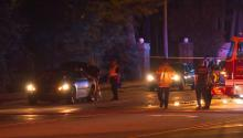 One person died early Saturday morning in a single-vehicle car crash in Fayetteville, officials said.