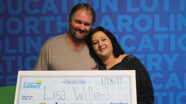 Some people would call Lisa Williard one of the luckiest people in the state. The Iredell County woman won a portion of a Cash 5 jackpot of $1,065,423 on Friday less than 10 years after winning another jackpot.