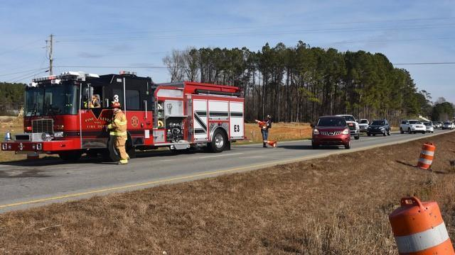 Jeser Rodrigues, 20, was traveling eastbound on U.S. Highway 70 at about 12:30 p.m. when the vehicle overturned.