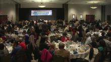 Hundreds gather for MLK Day prayer breakfast