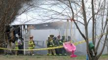 IMAGES: Authorities: 1 hospitalized in 'suspicious' Johnston County fire