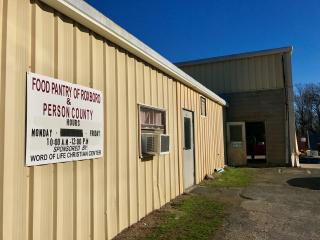 A Person County food pantry that serves hundreds of people every month is in need of help.
