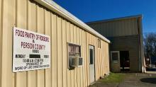 IMAGES: Lack of donations forces temporary closure of Roxboro food pantry