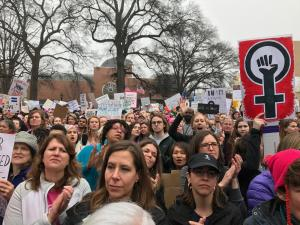 Women's March in Raleigh draws thousands to downtown
