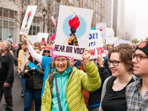 Thousands attend Women's March in Raleigh