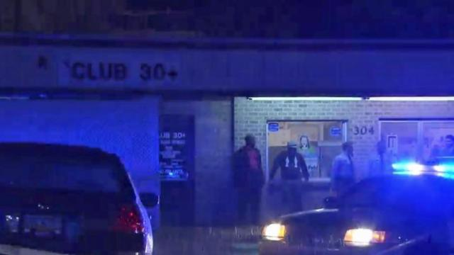 Shots were fired early Sunday at a nightclub in Raleigh.