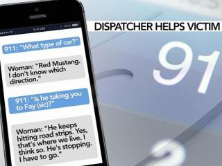911 dispatcher helps save woman