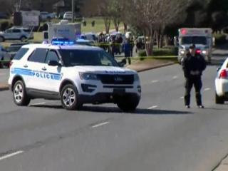 One person was killed in an officer-involved shooting Thursday afternoon in Charlotte, police said. Authorities told local NBC affiliate WCNC the officers involved in the incident were not injured.