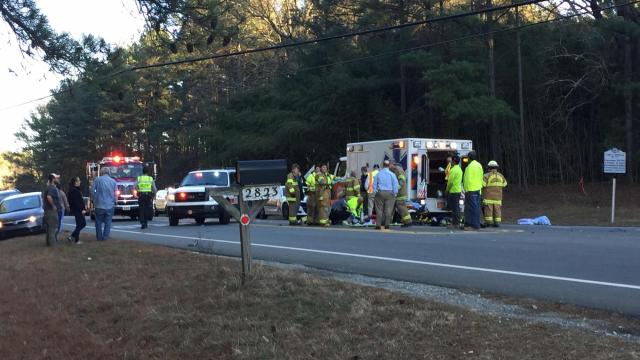 A man was killed Thursday afternoon following a collision on North Carolina Highway 54.